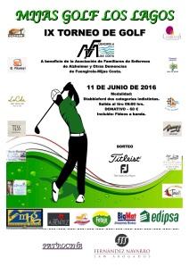 Cartel XI Torneo de Golf
