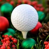 christmas-golf-ball